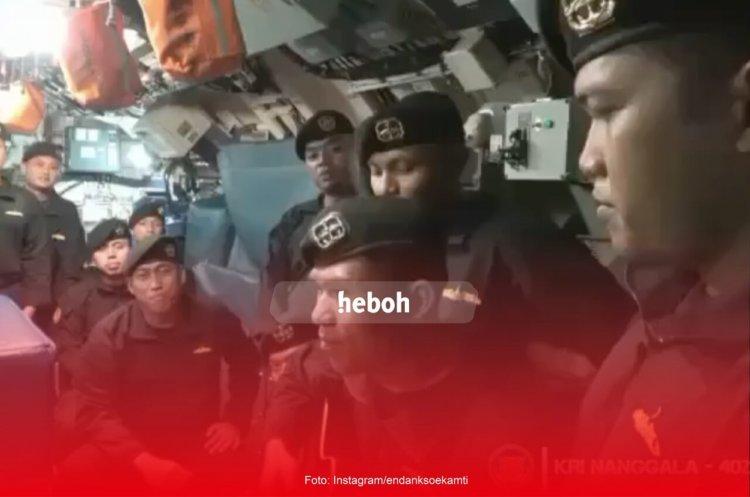 Viral! Awak Kapal KRI Nanggala-402 Nyanyikan Lagu 'Sampai Jumpa'