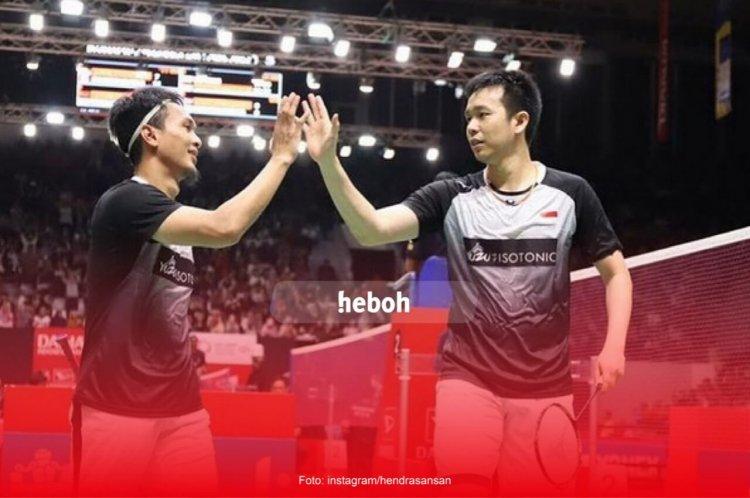 Lolos ke Perempat Final, Simak Profil Mohammad Ahsan dan Hendra Setiawan