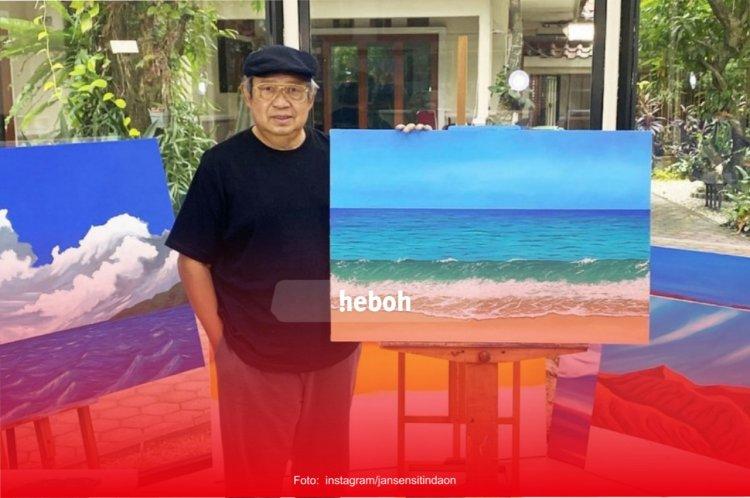 Tekuni Hobi Melukis, Karya SBY Banjir Pujian