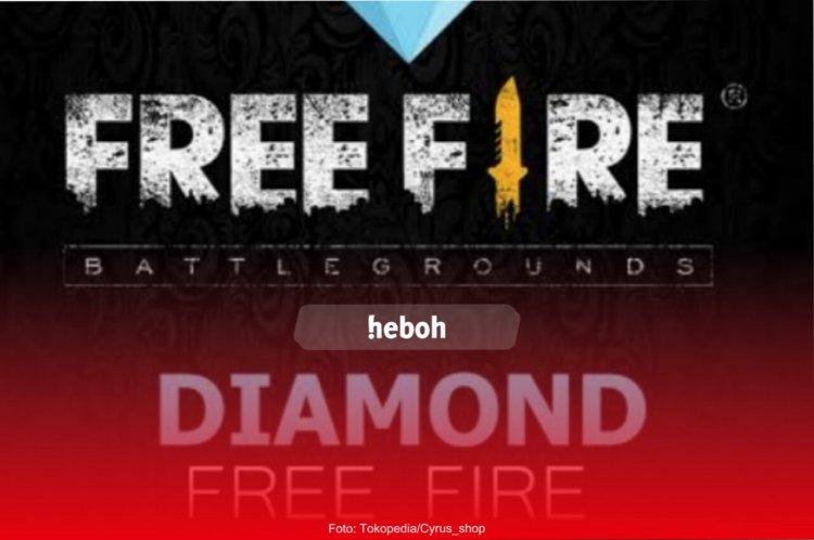 Top Up Diamond FF Free Fire Dapat Bonus Skin Backpack