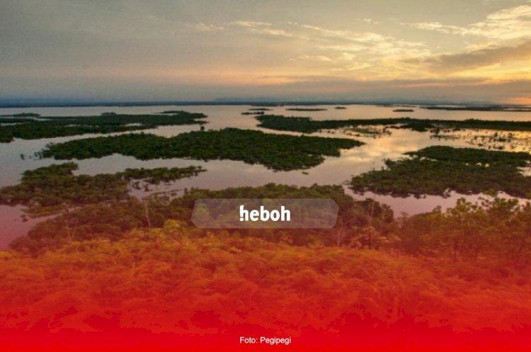 Danau Sentarum Di Kalimantan Barat yang Menawan