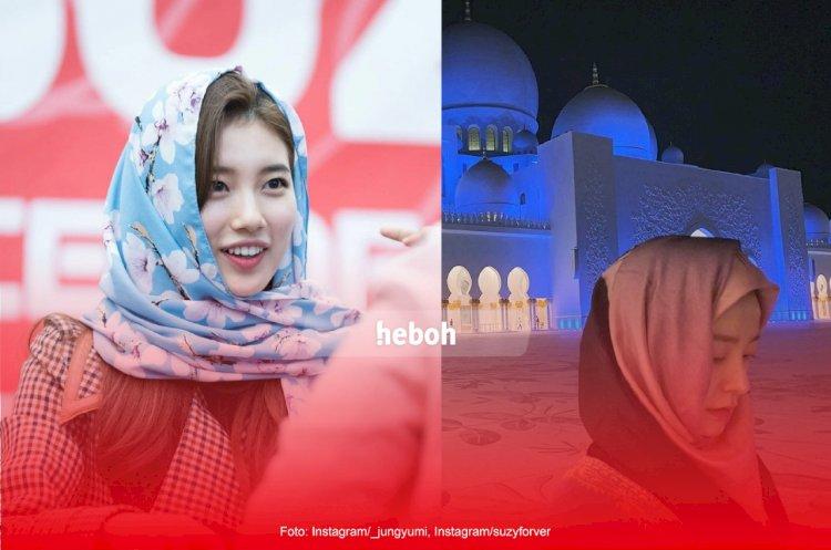 Deretan Artis Korea yang Cantik Berhijab