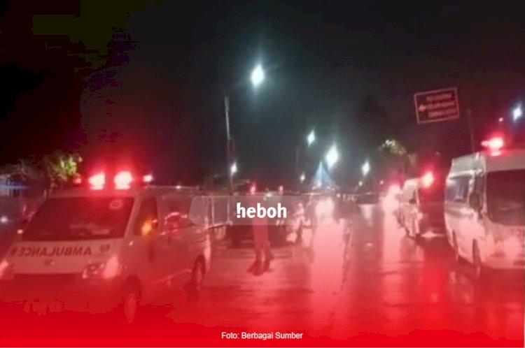 Viral! Video Antrean Ambulans Saat Masuk RSD Wisma Atlet, Ini Penjelasannya