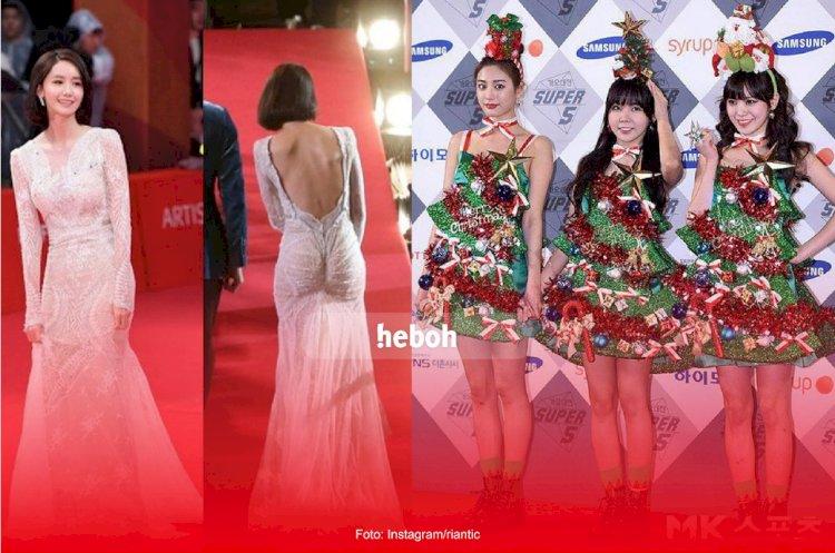 Gagal Total! Inilah Gaya Pakaian Idol K-Pop yang Dinilai Netizen Sangat Buruk!